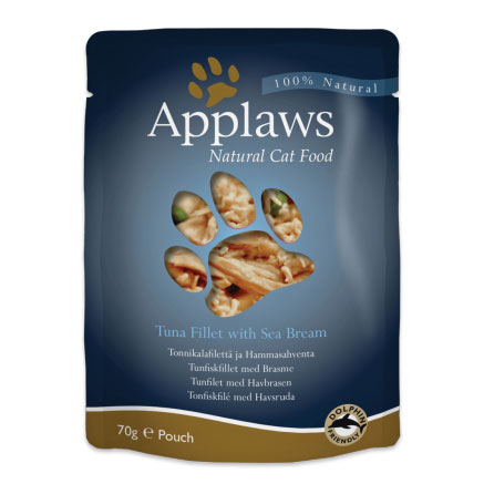 Applaws Tuna Fillet & Sea Bream Pouch