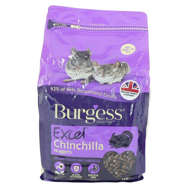 Burgess Excel Chinchilla Nuggets