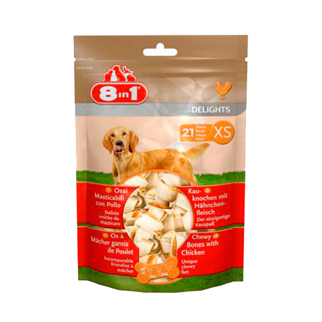 8 in 1 Delights XS Bones for Dogs