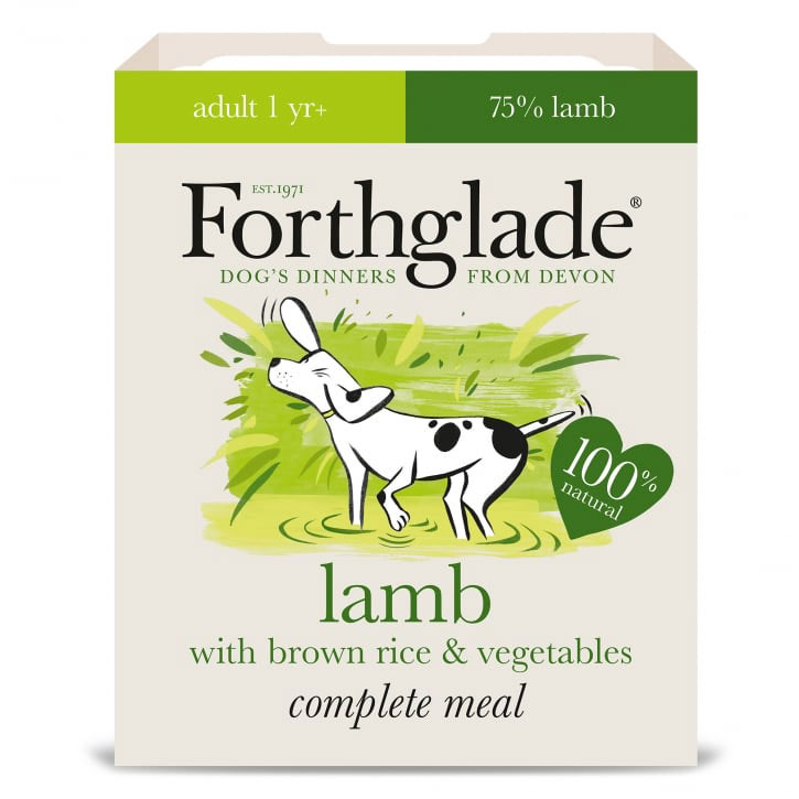 Forthglade Adult Natural Lamb with Brown Rice & Vegetables