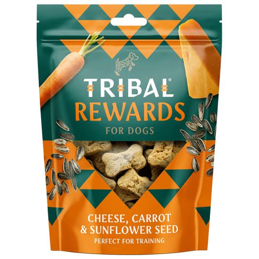 Tribal Cheese Carrot & Sunflower Seed Natural Dog Treats
