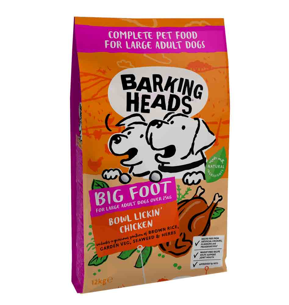 Barking Heads Large Breed Bowl Lickin Chicken