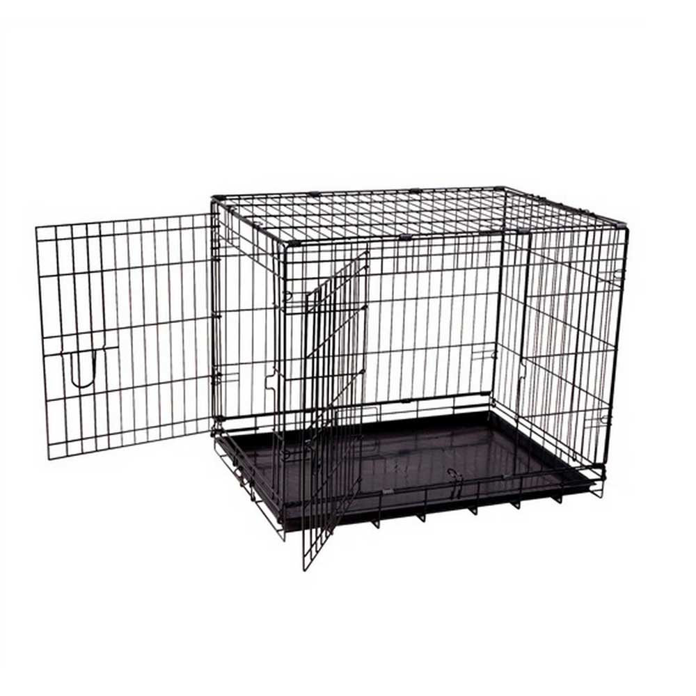 Dogit Wire 2 Door Black Wire Dog Crate Home