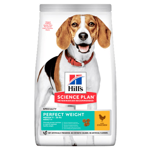 Hills Science Plan Perfect Weight Adult Medium