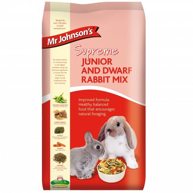 Mr Johnsons Jasper Rabbit Food Mix